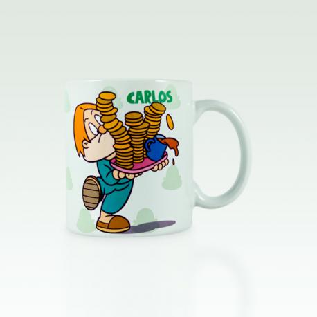 A taza de Carlos