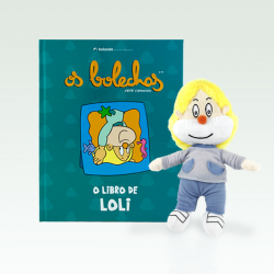 O libro de Loli + peluche