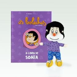O libro de Sonia + peluche