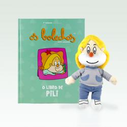 O libro de Pili + peluche