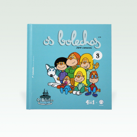 Os Bolechas - 20 aniversario. Vol. 3. (4 libros en 1) + Audiolibro